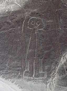 Les lignes de Nazca – Mystère du Pérou  Nazca_astronaut_s